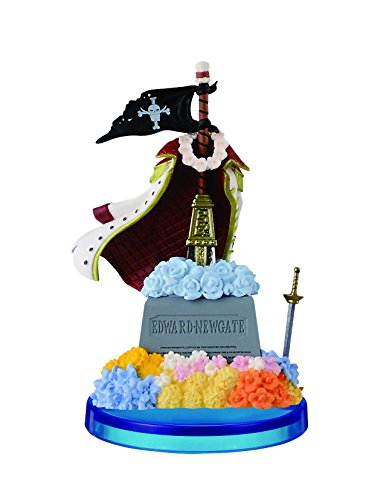 (Banpresto One Piece 2.8-Inch Grave of Shirohige World Collectible Figure, The History of Shirohige)