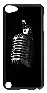 iPod Touch 5 Cases & Covers - Microphone Music PC Custom Soft Case Cover Protector for iPod Touch 5 - Transparent