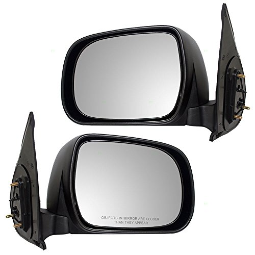 (Driver and Passenger Manual Side View Mirror Replacement for Toyota Pickup Truck 87940-04170 87910-04160 AutoAndArt)