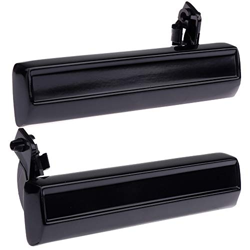 Price comparison product image OCPTY Door Handles Exterior Driver Passenger Side Replacement fit 1985-1994 Chevrolet S10 Outside Door Handles Black(2pcs)