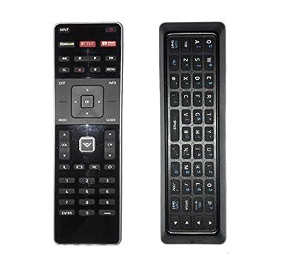 ZdalaMit XRT500 Replace Dual Side Qwerty Keyboard Remote Control fit for 2015 2016 VIZIO Smart TV M80-C3 M322I-B1 M422I-B1 M492I-B2 M502I-B1 M552I-B2 M602I-B3 P502ui-B1E P602UI-B3 P652UI-B2 P502ui-B1