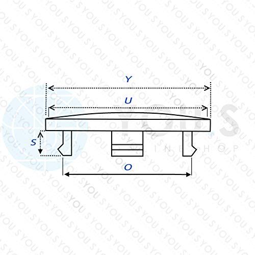 4 x Nabenkappen Nabendeckel Felgendeckel 60,0-56,0 mm Grau Z05