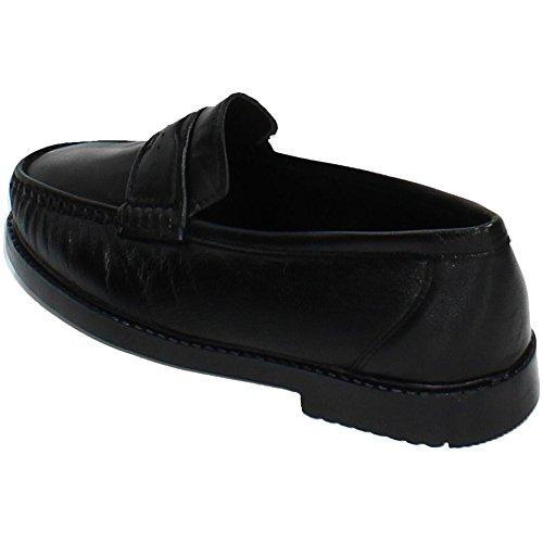 IN 701 Piel Spain Zapatos MOCASÍN Mocasines Negra Hombre Negro Made aPEqda