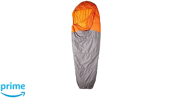 The North Face Aleutian Saco de Dormir, Unisex Adulto, Gris/Naranja, Largo: Amazon.es: Deportes y aire libre