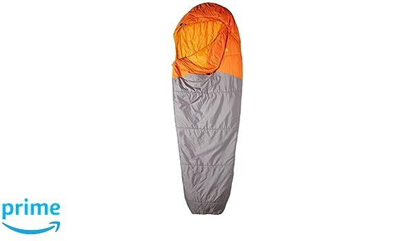 The North Face Aleutian Saco de Dormir, Unisex Adulto, Gris/Naranja, Largo: Amazon.es: Deportes y aire libre
