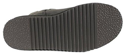 Dr. Stivali Di Pelle Di Pecora Gemelli Di Pelle Di Pecora - Disponibile In 3 Colori Marrone