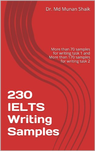Download Best Practice Book for IELTS Writing: 230 IELTS Writing Samples Pdf