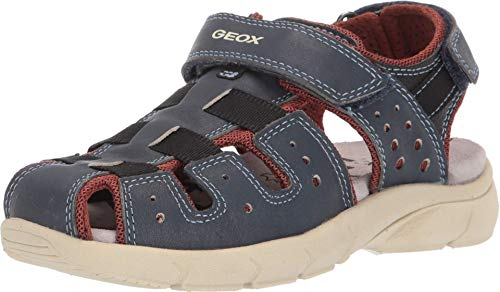 Geox J Sandal Flexyper Boy D Closed Toe, ((Navy C4002) 13 UK Child