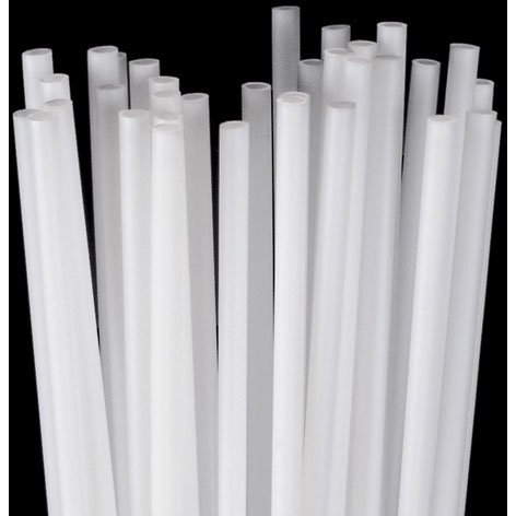 24″ White Balloon Sticks (100 ct) (100 per package), Health Care Stuffs