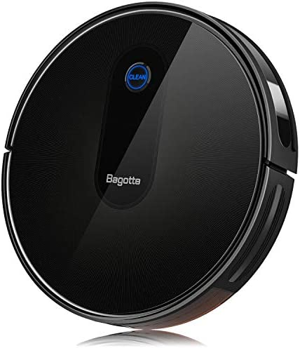 Robot Vacuum, 2.7 Slim Robotic Vacuum Cleaner With Self-Charging 1500PA Quiet, 6 Cleaning Modes, Daily Schedule Cleaning for Pet Hair, Carpet, Hardwood Floors, Tile