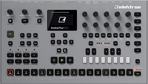 Elektron Analog Four MKII 4-voice Analog Synthesizer with Sequencer