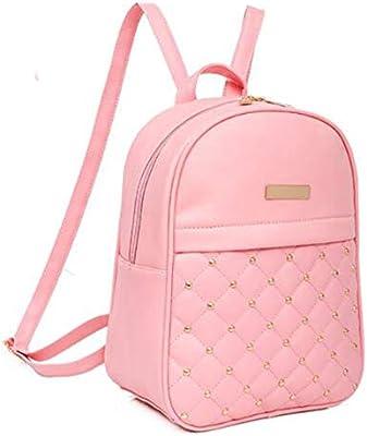 Amazon.com: Fashion Backpack Womens Backpack School Student Back Pack Female Backpacks Rucksack Mochila Escolar Backpack Girls SC0487,Pink Women Backpack: ...