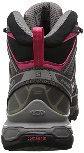 Mid X Ultra Pink Women's GTX High 2 Hiking Grau Hot Autobahn Boots Salomon Rise Detroit tqTwx51Z