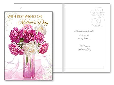 Religious mothers day card with insert with best wishes on mothers religious mothers day card with insert with best wishes on mothers day m4hsunfo