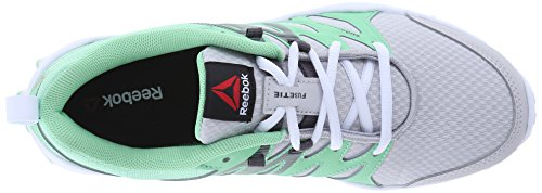Reebok Realflex Zug 4.0 Cross-Trainer-Schuh Steel/Seafoam Green/Ash Grey/White