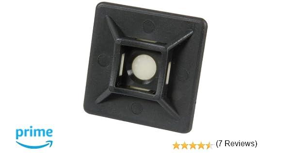Bulk Hardware BH03053 - Tie Auto Adhesivo Cable Monte, Negro (Paquete De 100): Amazon.es: Bricolaje y herramientas