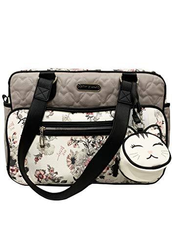 Betsey Johnson Floral Diaper Bag Backpack reviews