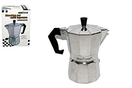 LIBERAONLINE Elegante Cafetera 2 Taza Taza Moka Caffe Idea Regalo ...