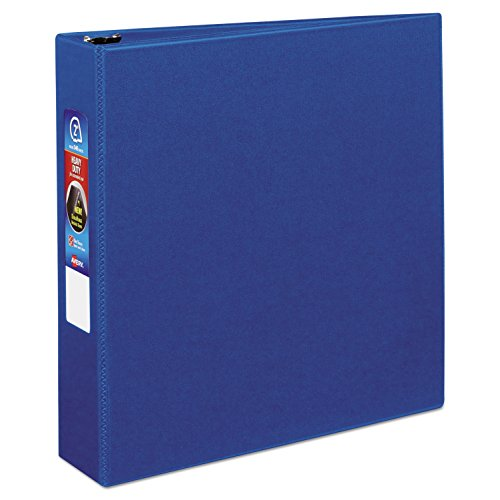 Avery Heavy-Duty Binder with 2-Inch One Touch EZD Ring, Blue (79882) ()
