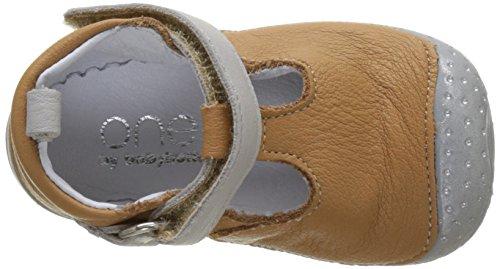 Babybotte Zik1 - Patucos de Otra Piel Bebé-Niñas marrón (camel)