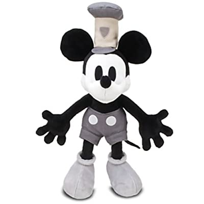Disney Steamboat Mickey Mouse Plush -- 18'' by Disney: Toys & Games