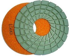 (Toolocity 7PDR1500 7-Inch Rigid Diamond Polishing Pads, 1500 Grit )