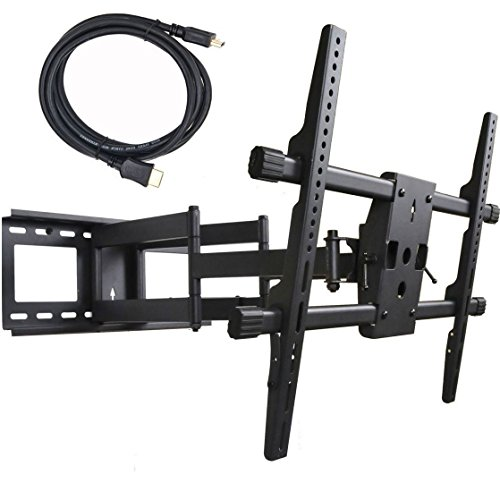 VideoSecu Full Motion TV Wall Mount for Toshiba 46L5200U 47L