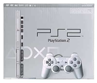 Amazon.com: PlayStation 2 Slim Console - Silver: Artist Not ...
