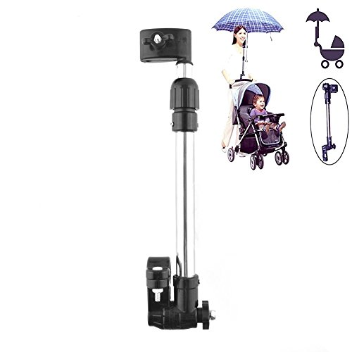 Adjustable Umbrella Mount Holder for Baby Pram Bicycle Stroller Wheelchair (Wheelchair Umbrella Mount)