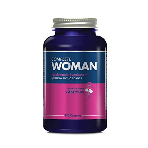 - Complete Nutrition Complete Woman Multivitamin, Women's Daily Multivitamin, Immune Support, Digestive Support, Engery Support, 120 Capsules