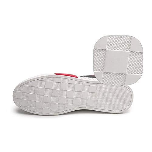 Da Sneaker FHTD Da Casual Black Tela Scarpe E Leggere Morbide In Espadrillas Uomo Piatte Passeggio Comfort Scarpe OOxvq4w7r