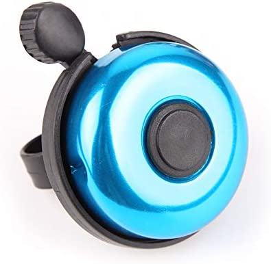 7 Colors, Left-Hand Use Loud Sound Bicycle Bell for Adults Kids Girls Boys REKATA Aluminum Bike Bell