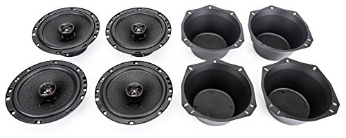 180w Two Way Speakers - Skar Audio SK65 6.5