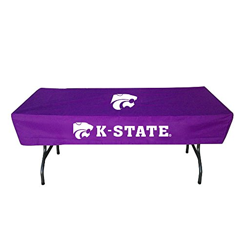 (Rivalry Distributing RIV-RV236-4600 Kansas State Wildcats NCAA Ultimate 6 Foot Table Cover)