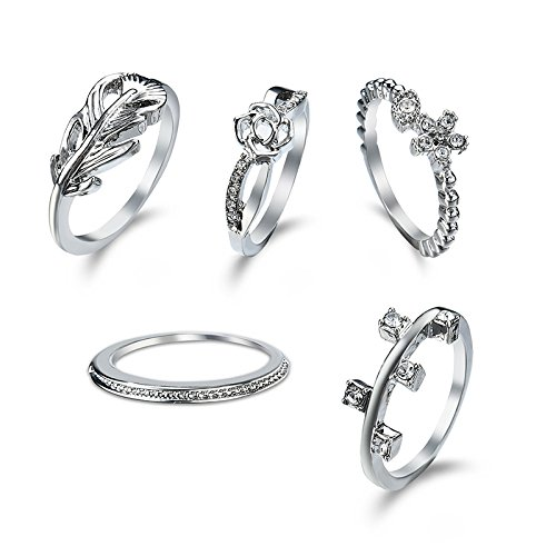 15ee34e63b Buy Young & Forever Valentine Gifts for Girlfriend Valentine Gift for  Boyfriend Love Ring Set Online at Low Prices in India | Amazon Jewellery  Store ...