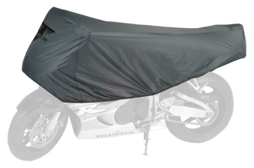 - Dowco Guardian 26015-00 Travel Ready Water Resistant Premium Motorcycle Half Cover: Grey, Sportbike