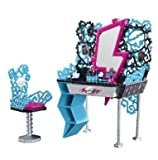 Game Play Monster High Frankie's Vanity Playset - monster - high - frankie - stein - monster - high - barbie Toy Child Kid