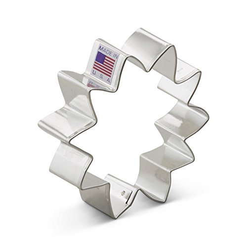 Autumn Cookie Bouquet - Ann Clark Sunflower Cookie Cutter - 3.5 Inches - Tin Plated Steel