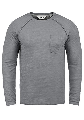 En Homme Grey Pull Don shirt Coton Rond Sweat Mid solid 2842 Encolure Sweat 100 EaYUBcq