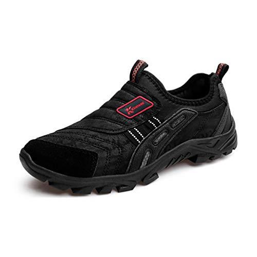 Qianliuk Men Tourism Hiking Shoes Outdoor Antiskid Fishing Casual Shoes...