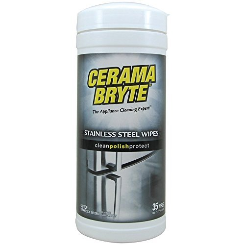 CERAMA BRYTE 48635 Stainless Steel Cleaning Wipes Home, garden & living