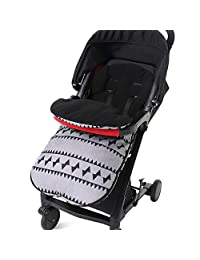Xlight.ca Universal Stroller Sleeping Bag Winter Warm Soft Wearable Stroller Swaddling Blanket