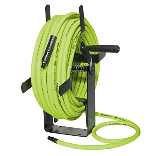 Flexzilla Manual Open Face Air Hose Reel, 3/8 in. x 100 ft,