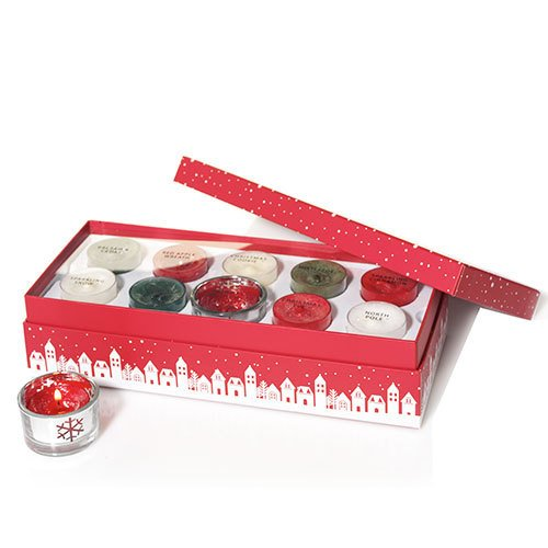 Yankee candle Holiday Tea Light Sampler (Enchanted Forest Candle Holder)