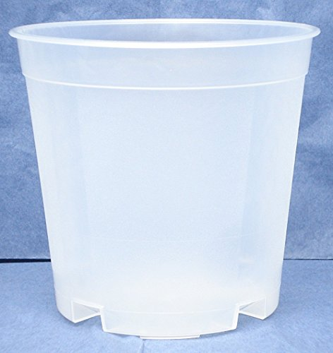8 diameter plastic orchid pots - 7
