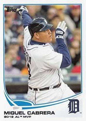 2013 Topps #374 Miguel Cabrera Tigers MLB Baseball Card -