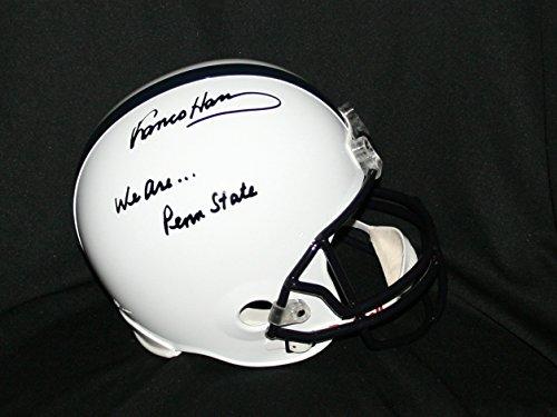 - FRANCO HARRIS Penn State Helmet Signed