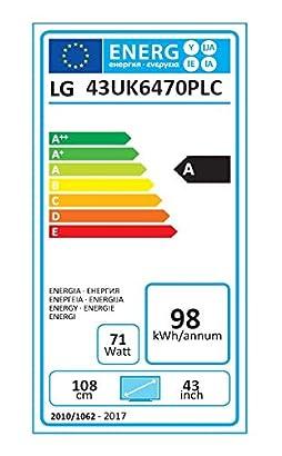 LG - TV Led 43 Lg 43Uk6470P 4K Uhd HDR Smart TV - TV Led - Los ...