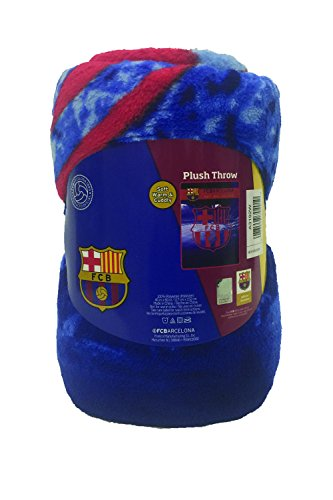 Fc Fleece Blanket - FC Barcelona Fleece Blanket