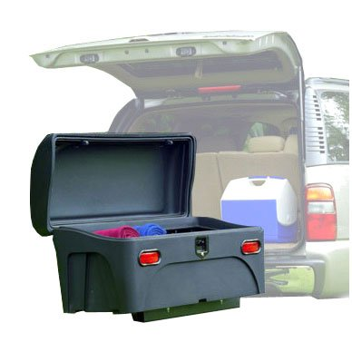 StowAway Standard Cargo Carrier with SwingAway Frame For 2'' Hitch- Black by Stowaway2